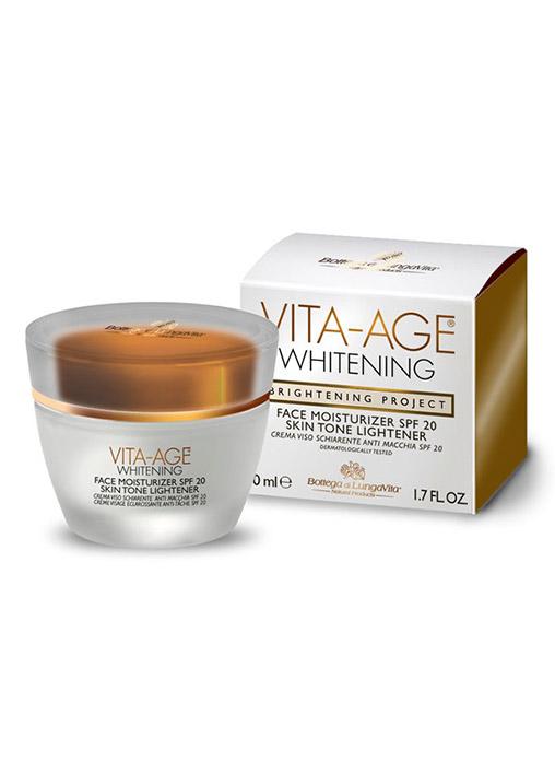 Whitening Face Moisturizer SPF 20 Skin Tone Lightener