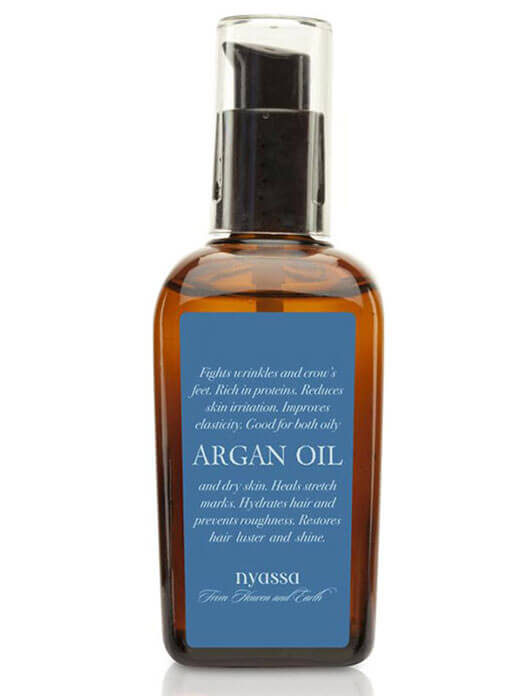 Nyassa Cold Pressed Argan Hair And Body Oil  -  100ml