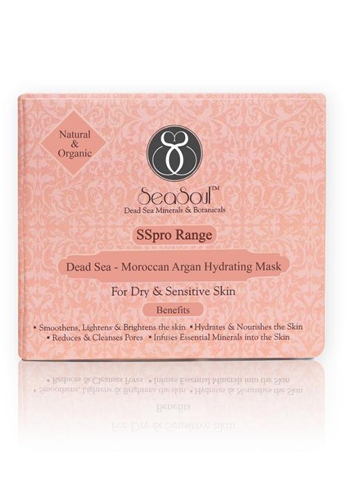 SeaSoul Dead Sea-Argan Hydrating Mask-Dry - Sensitive Skin