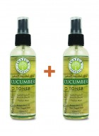 Inatur Cucumber Toner (spray) 100ml (Pack of two)