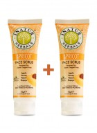 Inatur Apricot Face Scrub 75g (Pack of two)