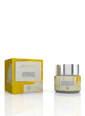 Ananda Light Moisturiser for Normal and Dry Skin